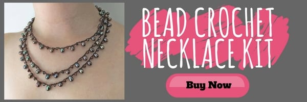 Bead Crochet Necklace Kit by the Well Done Experience