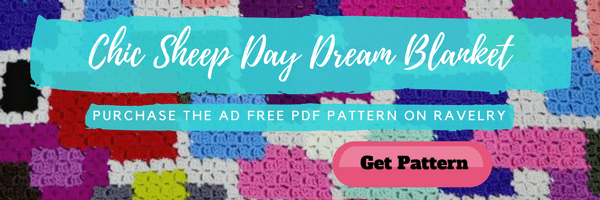 Ad FREE Chic Sheep Day Dream Blanket