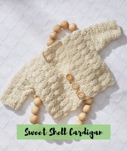 Sweet Shell Cardigan
