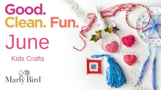 Fun with Scrubby Yarn and Red Heart-Kids Crafts