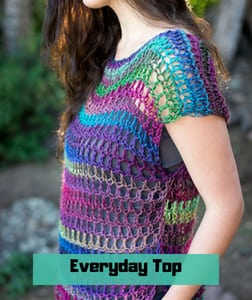 Everyday Top FREE Crochet Pattern