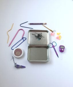 Creating with Sticks Knitting Notions Tin