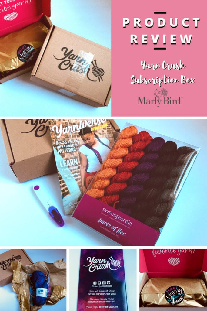 Product Review with Marly Bird-Yarn Crush Subscription Box