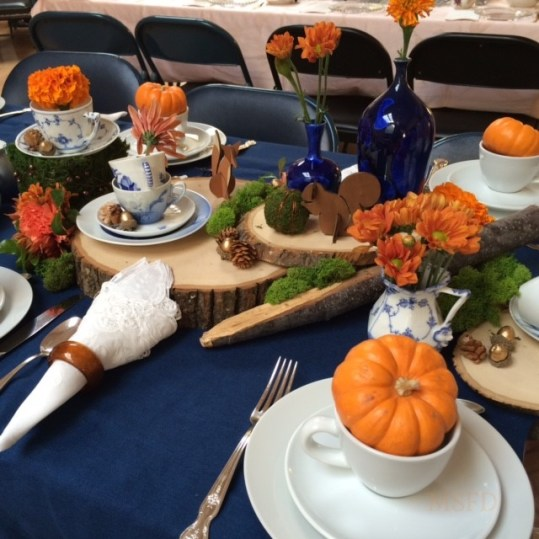 Autumn Danish Porcelain Tea Table 2