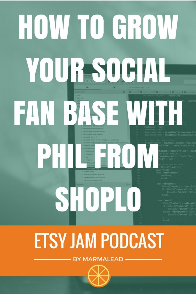 In this episode, we talk with Phil from Shoplo about promotion and content marketing. Phil discusses a lot of great topics from growing a fan base to maintaining your brand image, using social media and more!