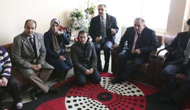 Başkan Yılmaz'dan görme engelli vatandaşlara ziyaret