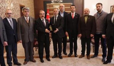 SASİAD'ın yeni yönetiminden Vali Coş'a ziyaret