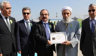 Şehit Safitürk adına 1981 adet fidan dikildi