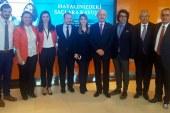 Kılıçdaroğlu,Murat Kaplan'ı ziyaret etti