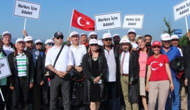 Barolar Destek Yürüyüşünde 'Herkes İçin Adalet' dedi