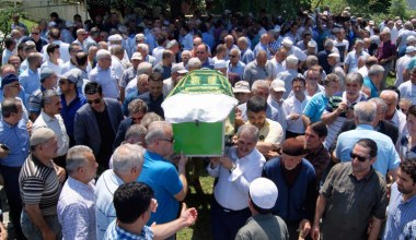 Sezai Matur'un annesi Behice Matur son yolculuğuna uğurlandı