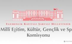 TBMM Millî Eğitim, Kültür, Gençlik ve Spor Komisyonu'nun görevleri