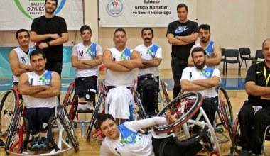 Balıkesir Tekerlekli Sandalye Basketbol Takımı galibiyete imza attı