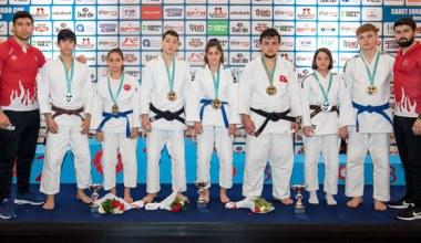 Büyükşehir Kağıtsporlu Judocular Milli Takımı zirveye taşıdı
