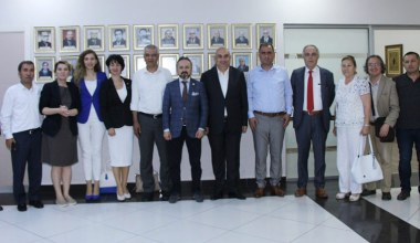 CHP Heyetinden Başkan Kazan'a Ziyaret