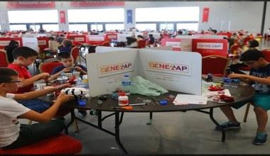 Dene-Yap Teknoloji Atölyeleri için uygulama sınavı yapıldı