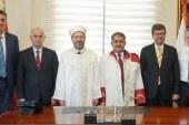 'Prof. Dr. Ali Erbaş Bizim Gurur Kaynağımızdır'