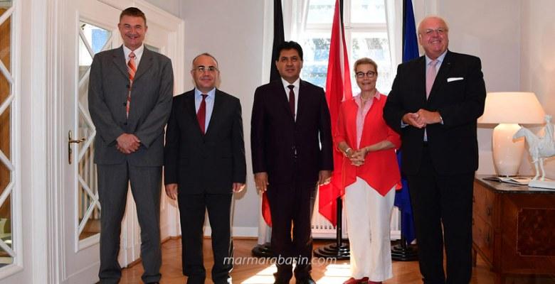 Başkan Gül, Büyükelçi Erdmann'ı ziyaret etti