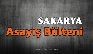 Sakarya Asayiş Bülteni (22-24 Mart 2019)