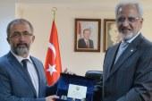 Kuveyt Büyükelçisi el-Zevavi'den Rektör Savaşan'a Ziyaret