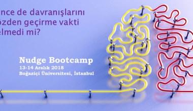 'Nudge Bootcamp' Boğaziçi Üniversitesi'nde