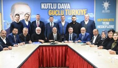 AK Parti Kocaeli SKM'de görev dağılımı yapıldı
