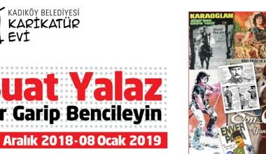 Suat Yalaz Kadıköy Karikatür Evi'nde sergi açıyor