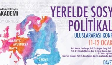 'Yerelde Sosyal Politikalar' konferansı