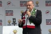 """Cumhurbaşkanı Erdoğan: """"Belediye başkanlığı seçimi için terör baronları niye kampanya yürütüyor"""""""