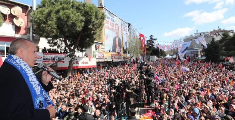 """Cumhurbaşkanı Recep Tayyip Erdoğan: """"Ankara'da metruk sayılabilecek binada çıkan yangında 5 kardeşimiz yanarak öldü"""""""