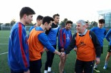 Dr. Aydoğan Arslan gençlerle maç yaptı
