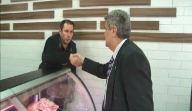 DSP Küçükçekmece Belediye Başkan adayı Birkan Duran esnafı ziyaret etti