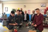 Matlı'dan Şehit Ömer Halisdemir Meslekî ve Teknik Anadolu Lisesi'ne ziyaret