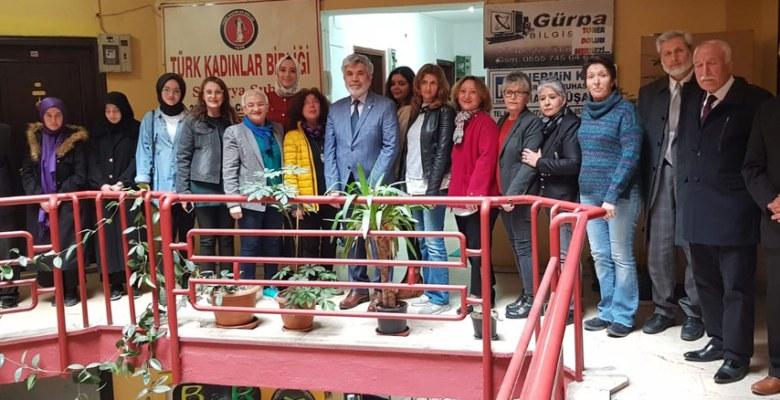 Abidin Birinci, Türk kadınlar Birliği'nde