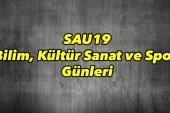 SAU19 Bilim, Kültür Sanat ve Spor Günleri