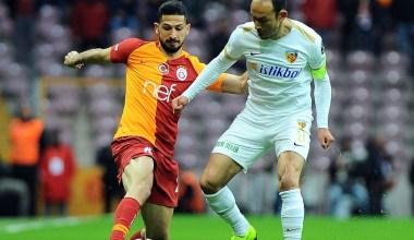 Spor Toto Süper Lig: Galatasaray: 3 – İM Kayserispor: 1 (İlk yarı)