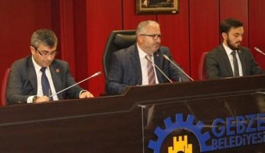 Gebze Belediyesi Meclisi'nde Mayıs ayının ilk oturumu yapıldı