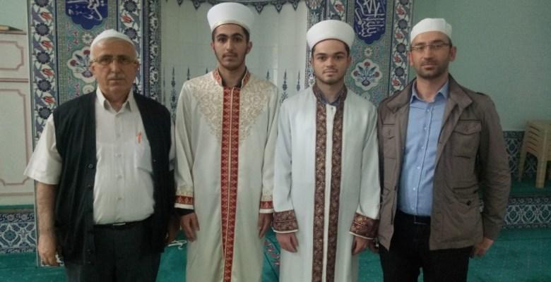 Gemlikli hafızlar Karsak Camii'nde mesleğe adım atıyor