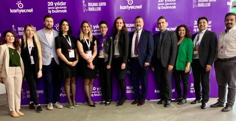 Kibar Holding'in üç grup şirketine 'İnsana Saygı Ödülü'