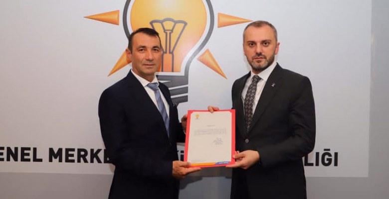AK Parti Ferizli İlçe Başkanlığına Muhsin Zurnacı atandı