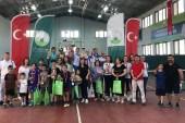Osmangazi'de 14 yaş tenis heyecanı sona erdi