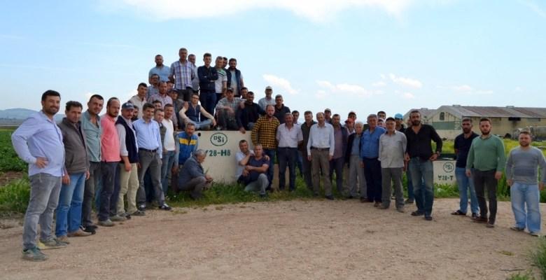 (Özel) Bursalı çiftçiler su saati uygulaması yüzünden DSİ'ye isyan etti