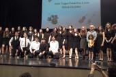 Şehit Turgut Solak Lisesinden müzik dinletisi