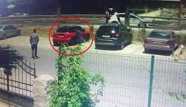 20 saniyede otomobilden hırsızlık