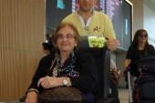69 yıllık hayalini gerçekleştiren Raşel Kazes, Türkiye'den ayrıldı