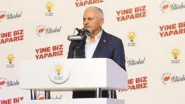 """Binali Yıldırım: """"Ekrem İmamoğlu'nu tebrik ediyor, başarılar diliyorum"""""""