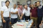 Alkolden kurtuluşunun 27'nci yılını pasta ile kutladı