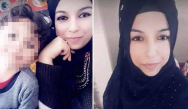 Genç kadın çocuklarının gözleri önünde öldürüldü