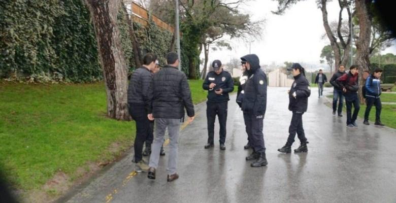 Polisten çocuklara açık umum yerler denetimi