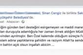Sinan Cengiz görevi bıraktı mı?